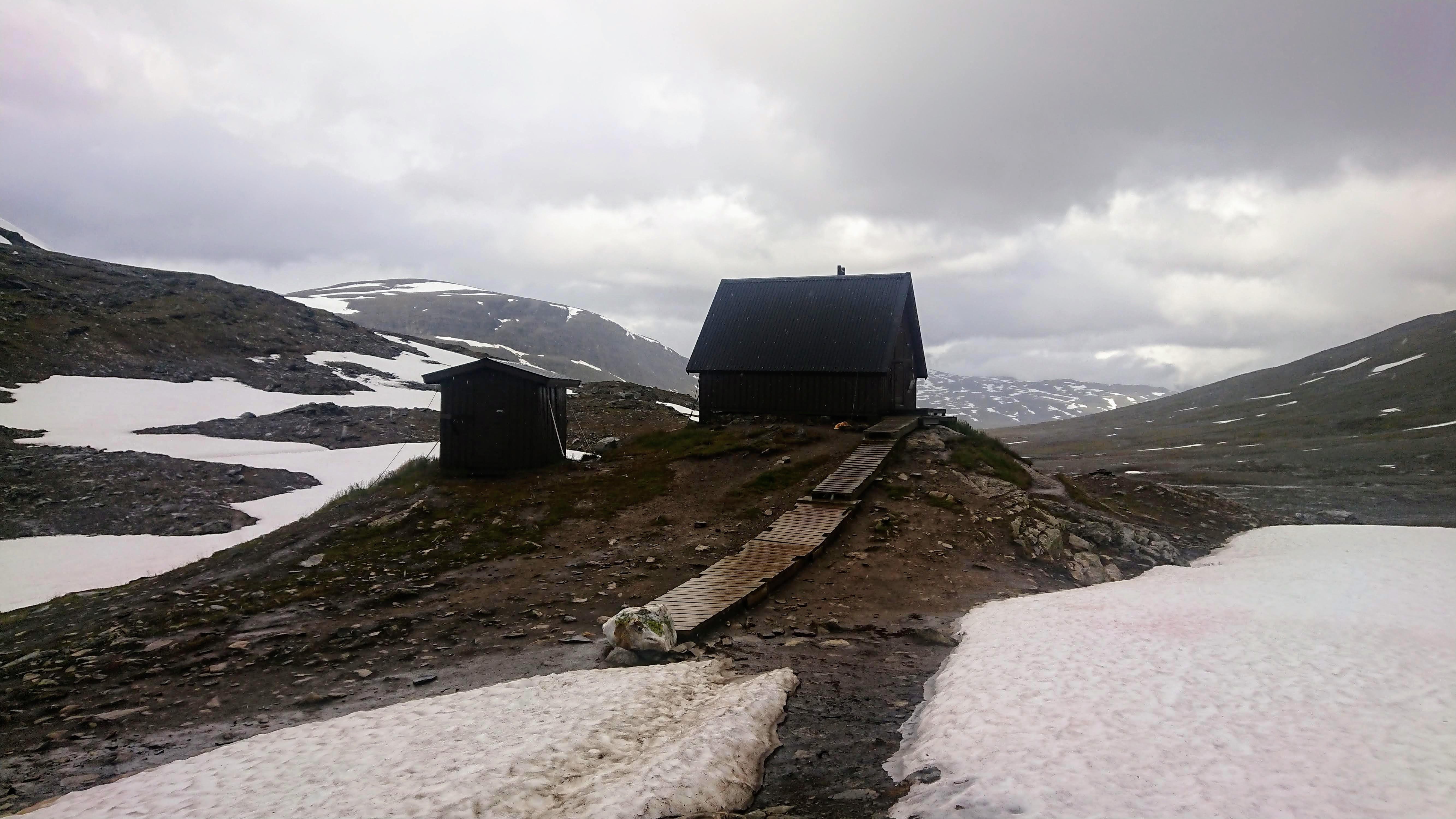 High point - Tjäktja pass 1150m