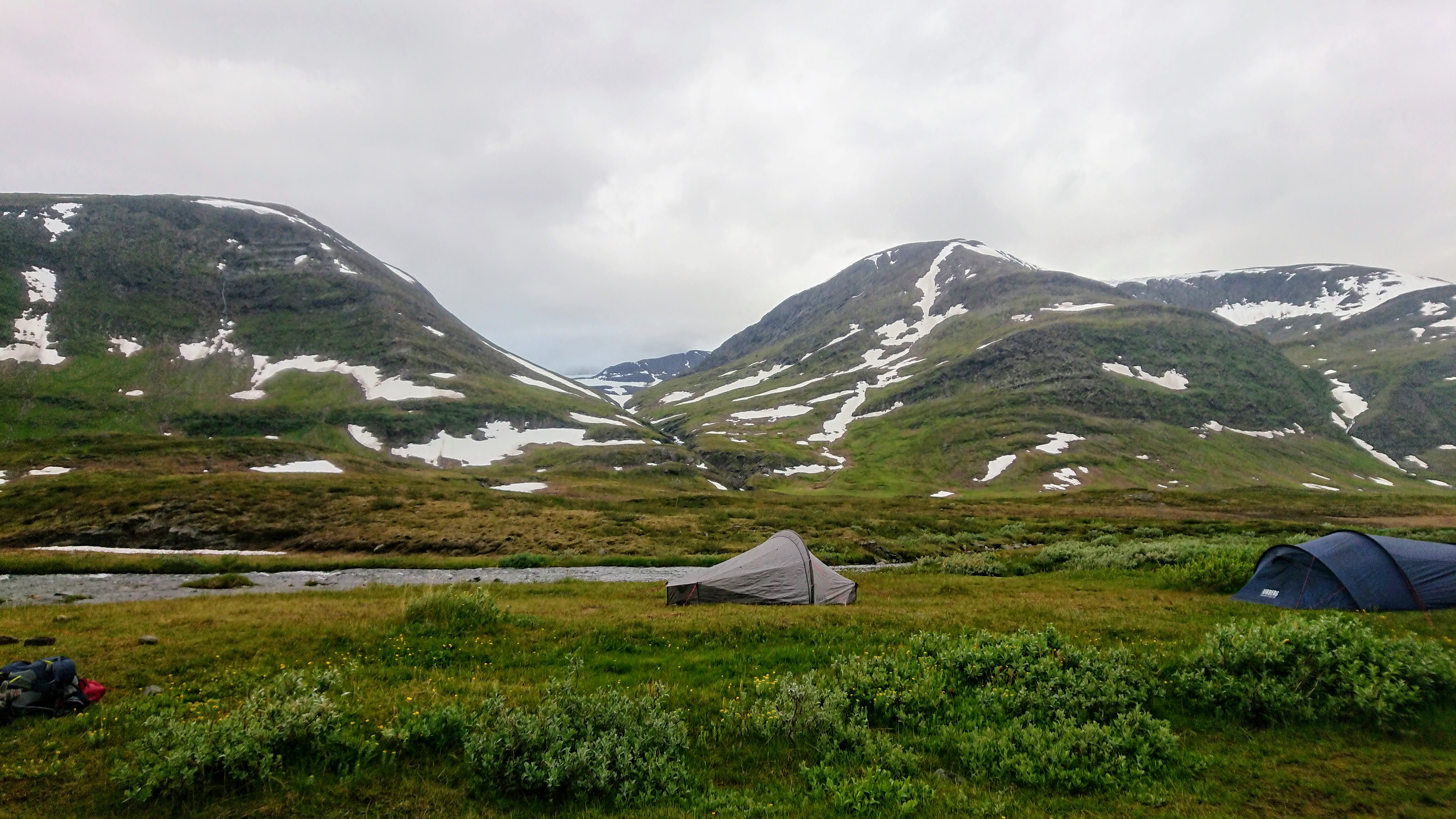 Tent pitch by Sälka