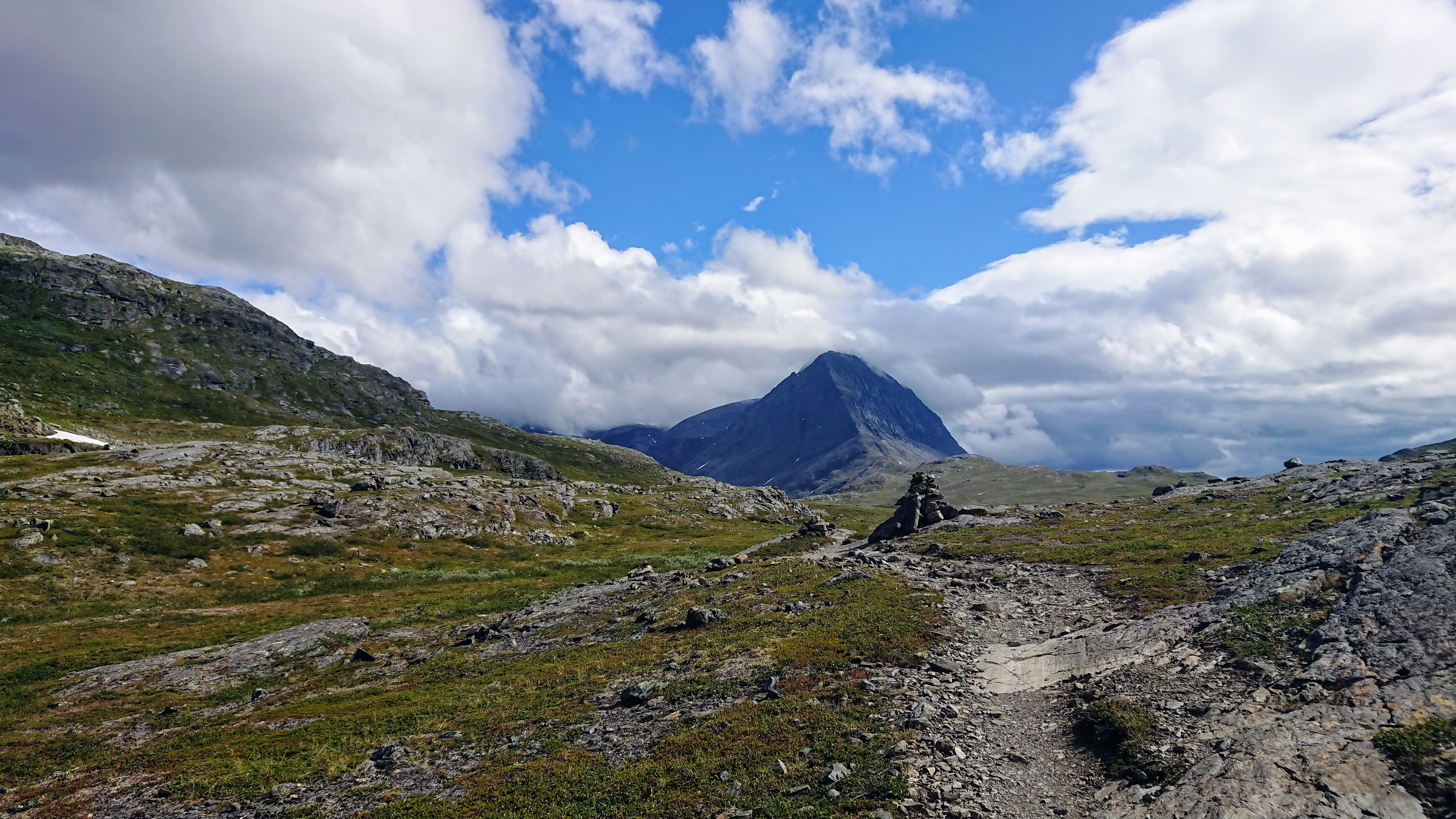 The tallest mountains in Sweden