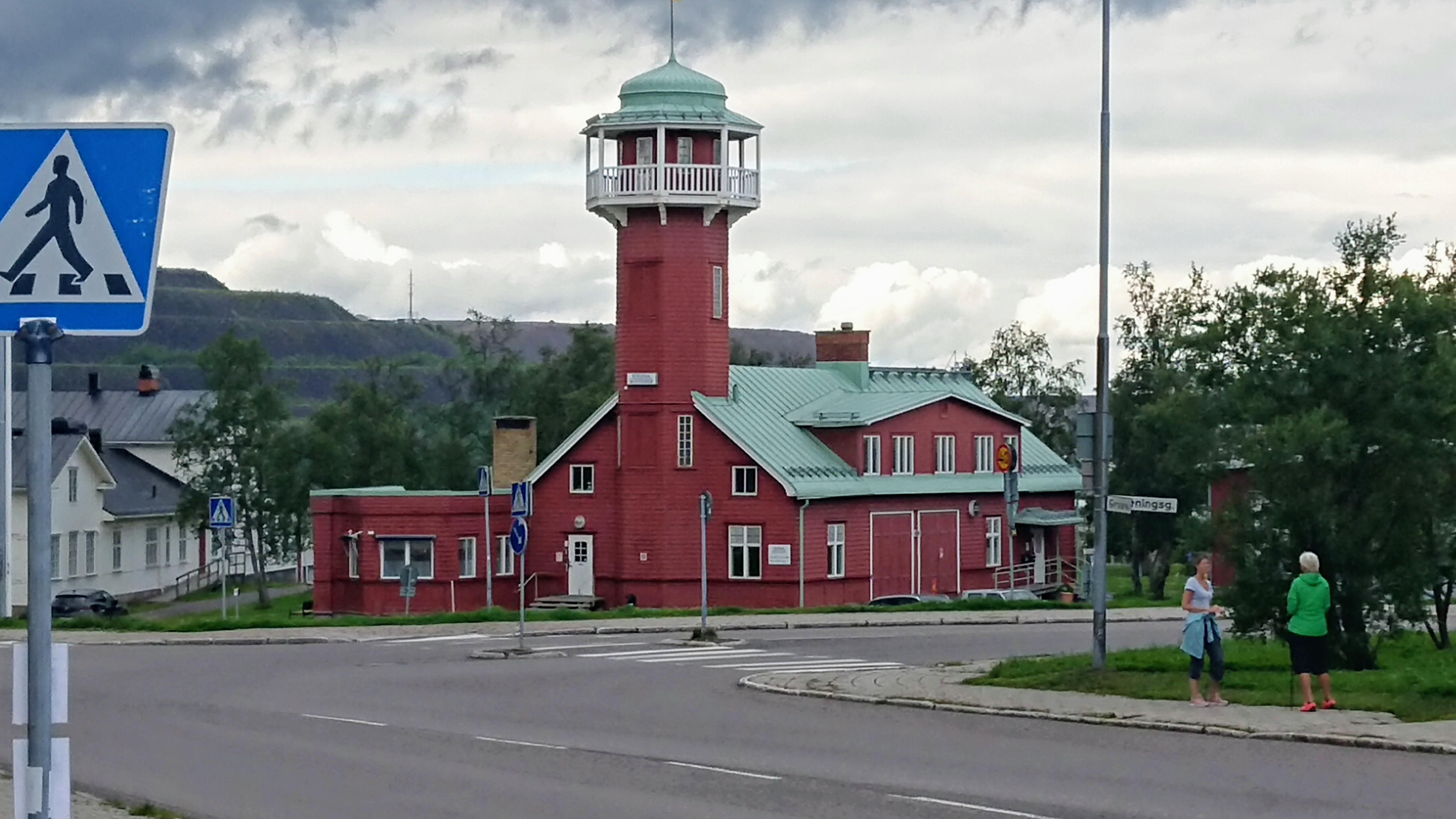 Kiruna fire station