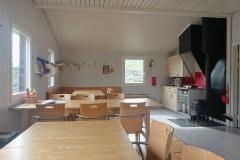 Inside Alesjaure hut
