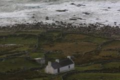 Irish coast house