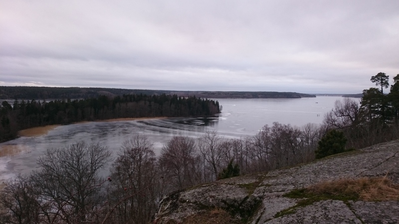 View over lake Mälaren.