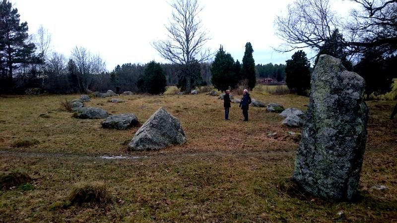 Iron age cemetery