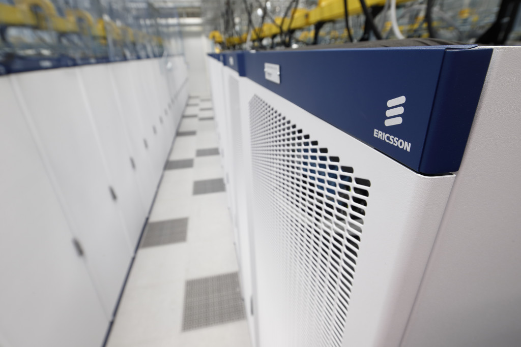 Servers in ericsson data centre the 21st century factory