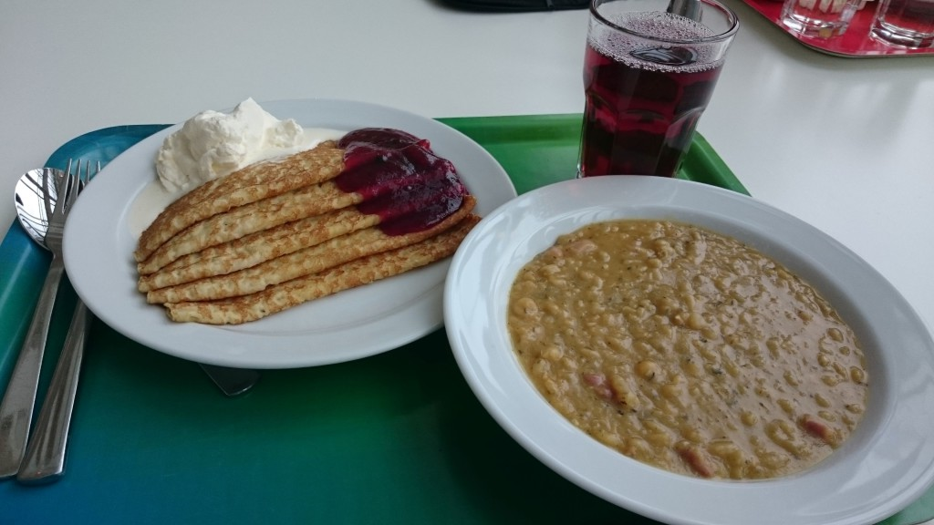 Pancakes and Pea Soup in Sweden